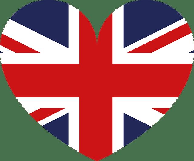 heart-shaped union jack